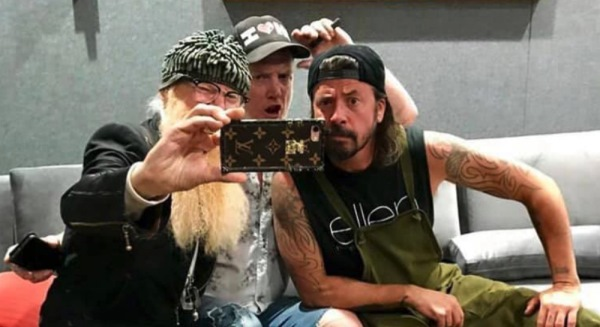 Billy Gibbons, Josh Homme in Dave Grohl